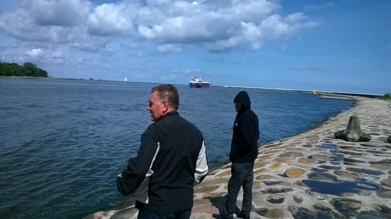Swinoujście wyjście z portu