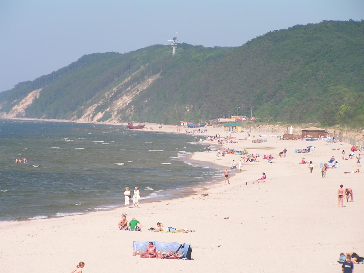 Międzyzdroje, plaża wschodnia