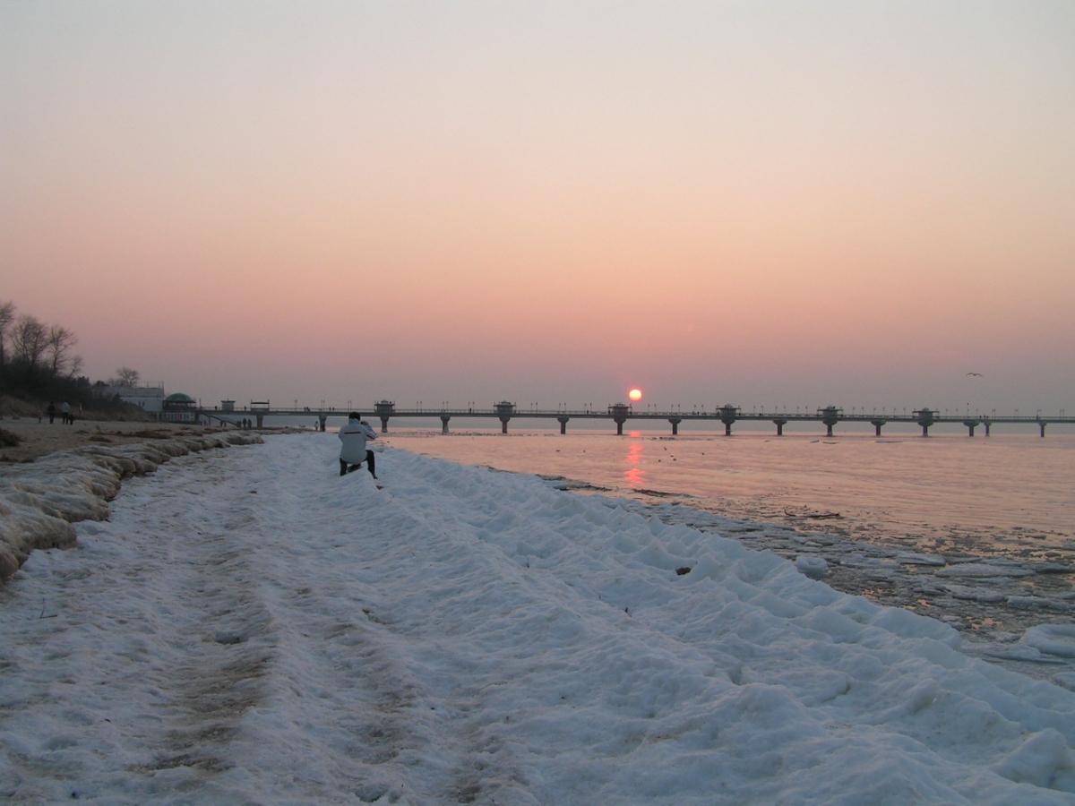 Międzyzdroje-Bałtyk, inspirujące zachody słońca