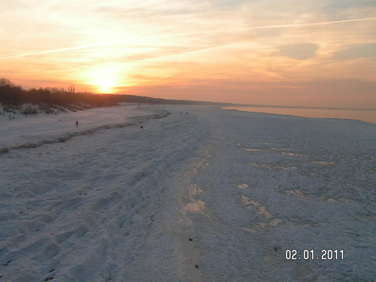 Słońce Bałtyku maluje obrazy