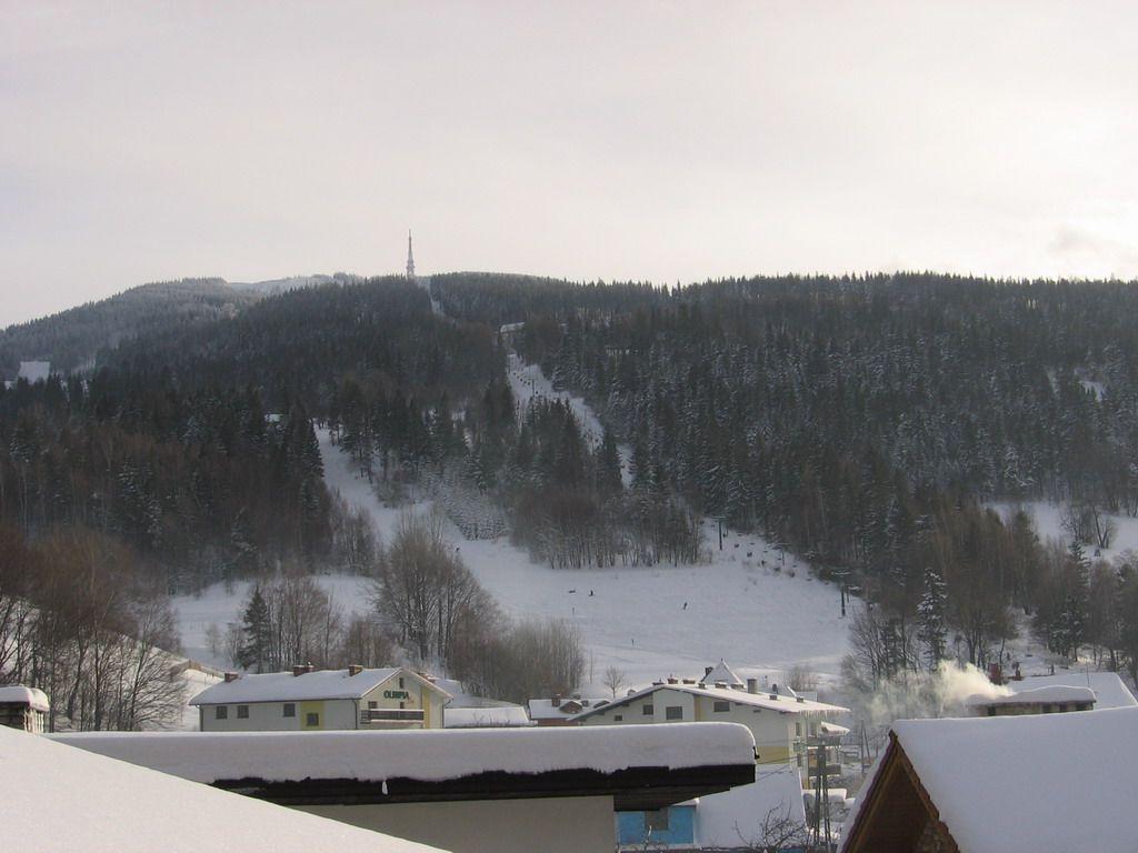 Widok Na Skrzyczne Zimą